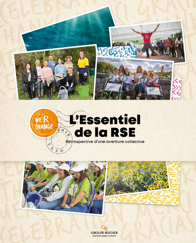 """Couverture - """"L'Essentiel de la RSE 2015 - 2020"""""""